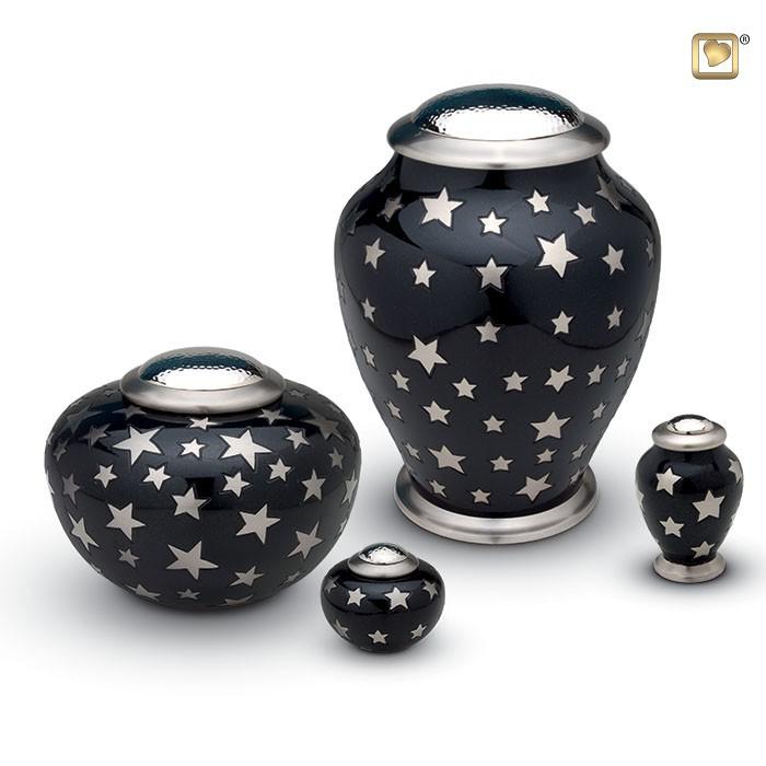 Urn Simplicity Stars, hoog