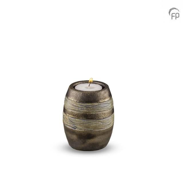 urn met waxine lichtje