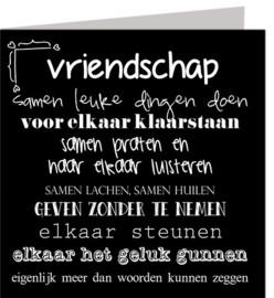 Kaart: Vriendschap