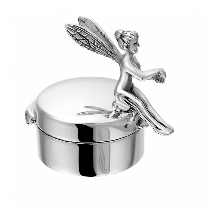 Zilveren mini urn