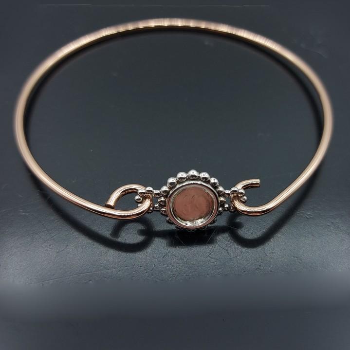 Roségouden armband