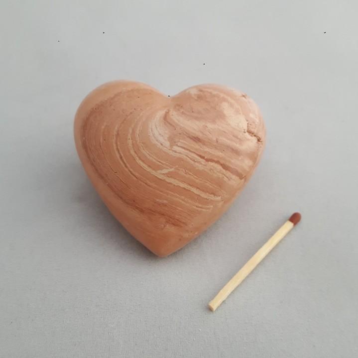 Urn hart surpriseklei klein