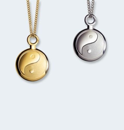 Gouden asketting, Yin-Yang
