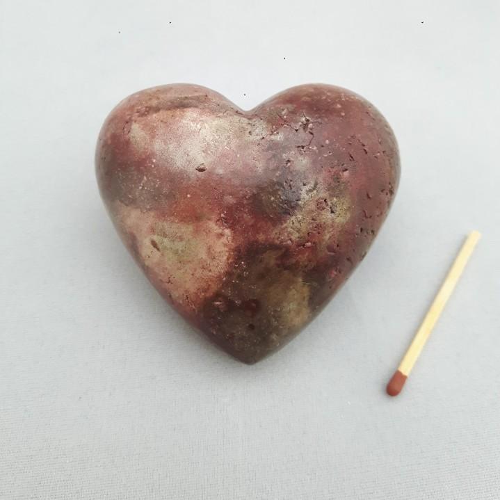 Urn hart klein