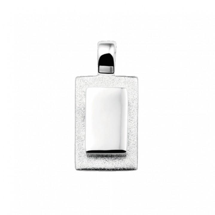 Zilveren hanger.