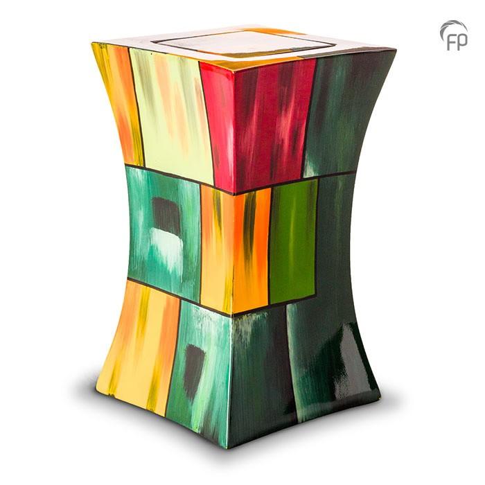 diabolische glasfiber urn