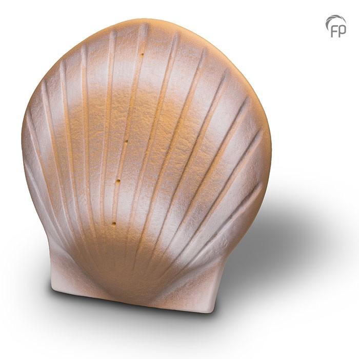 Zee-urn biologisch afbreekbaar, schelp