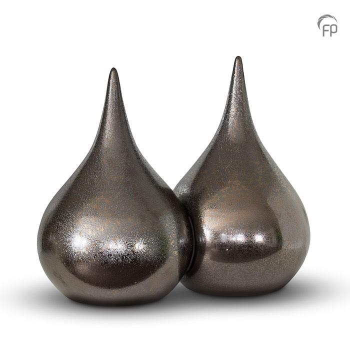 Duo-urn keramiek druppel